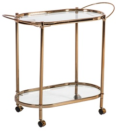 Home4you Genua Serving Table Gold