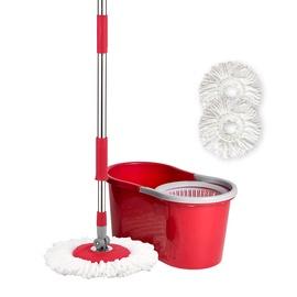Grīdas mazgāšanas komplekts Liao T130010, sarkana, 6 l