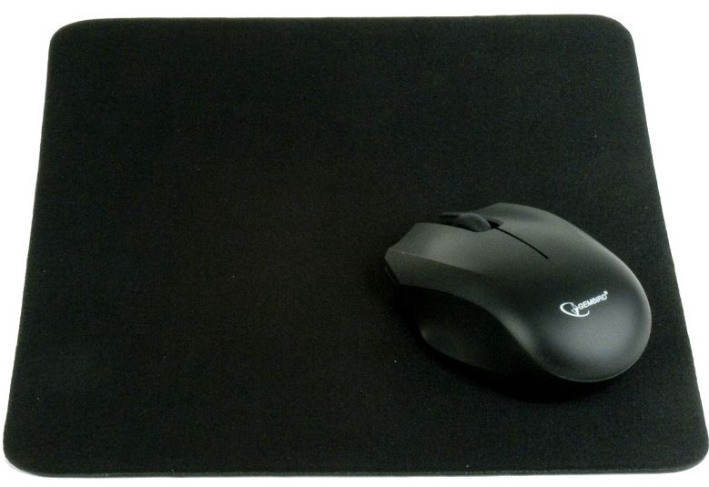 Gembird Cloth Mouse Pad Black
