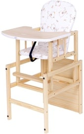 Drewex Feeding Chair Antos Bear Pine