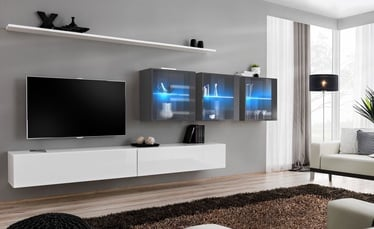 ASM Switch XVII Wall Unit White/Graphite
