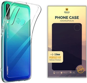 Mocco Original Clear Silicone Case For Huawei P40 Lite E Transparent 2mm