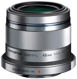 Объектив Olympus 45mm F1.8 M.Zuiko Digital Silver, 116 г