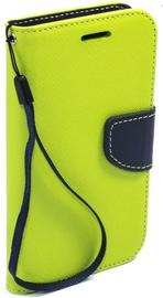 Telone Fancy Diary Bookstand Case LG G4 Light Green/Blue