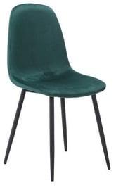 Стул для столовой Signal Meble Fox Dark Green, 1 шт.