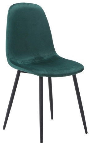 Ēdamistabas krēsls Signal Meble Fox Dark Green, 1 gab.
