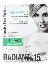 Sejas maska Iroha Nature Intensive Moisturizing Tissue Face Mask Aloe, 23 ml