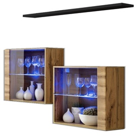 ASM Switch SB III Hanging Cabinet/Shelf Set Wotan/Black