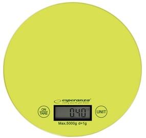 Электронные кухонные весы Esperanza Mango EKS003, зеленый