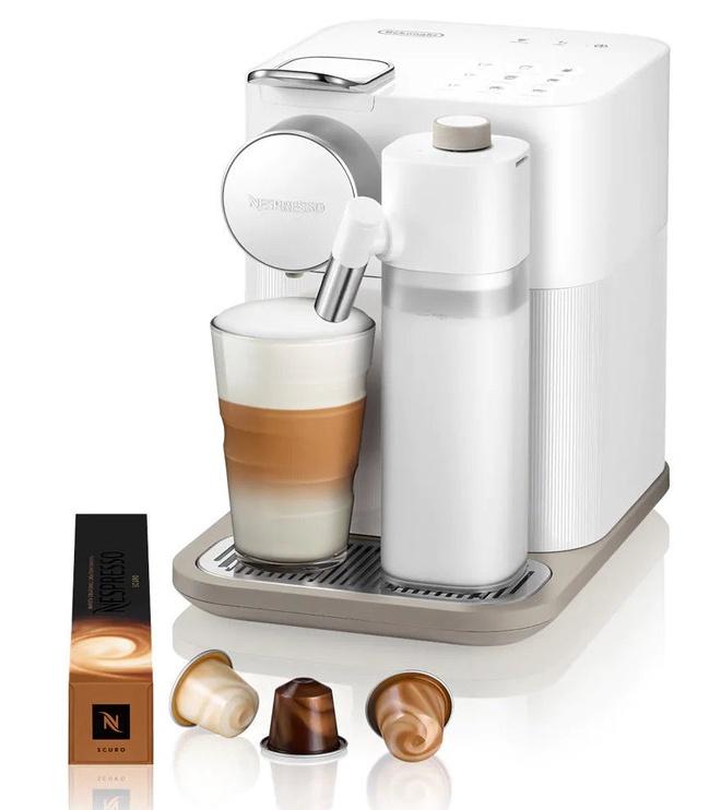 Kapsulas kafijas automāts De'Longhi Gran Lattissima, balta