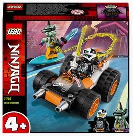 Konstruktors LEGO Ninjago Cole ātrais auto 71706, 52 gab.