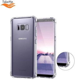 TakeMe Anti-Shock Cover Case For Samsung Galaxy S8 (G950) Transparent 0.5mm