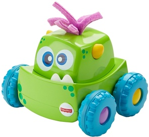 Interaktīva rotaļlieta Fisher Price Press 'N Go Monster Truck Green DRG15
