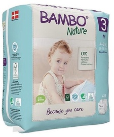 Pamperi Bambo Nature Classic Diapers S3 28