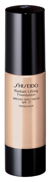 Tonizējošais krēms Shiseido Radiant Lifting Foundation SPF17 Natural Fair Ivory, 30 ml