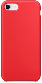 Hurtel Soft Flexible Rubber Back Case For Apple iPhone 7/8/SE 2020 Red