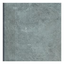 Paradyz Ceramika Clinker Tiles Maxxis Graphite With Stripes 30x30cm