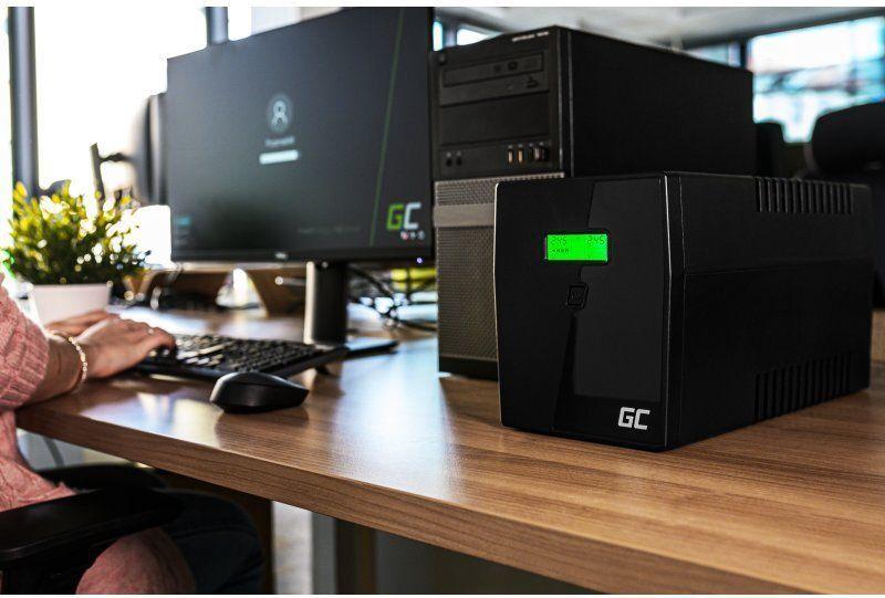UPS sprieguma stabilizators Green Cell UPS Power Proof 600VA 360W
