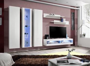 ASM Fly P9 Living Room Wall Unit Set White