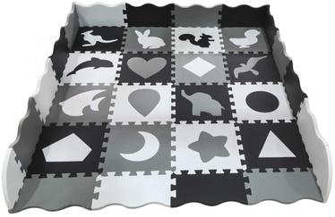 Spēļu paklājs 4IQ Black & White, 31x31 cm