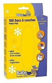 Netīro autiņbiksīšu konteiners Babymoov Nappy Bags 100pcs 222701