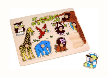 SN Wooden Puzzle African Animals HJ98105