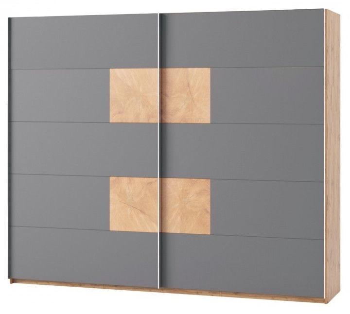 Skapis Szynaka Meble Livorno 72, 270x60x225 cm