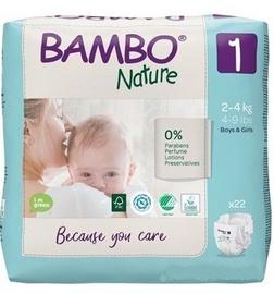 Подгузники Bambo Nature Classic Diapers S1 22