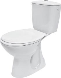 Tualete Cersanit President Compact, ar vāku, 365x645 mm