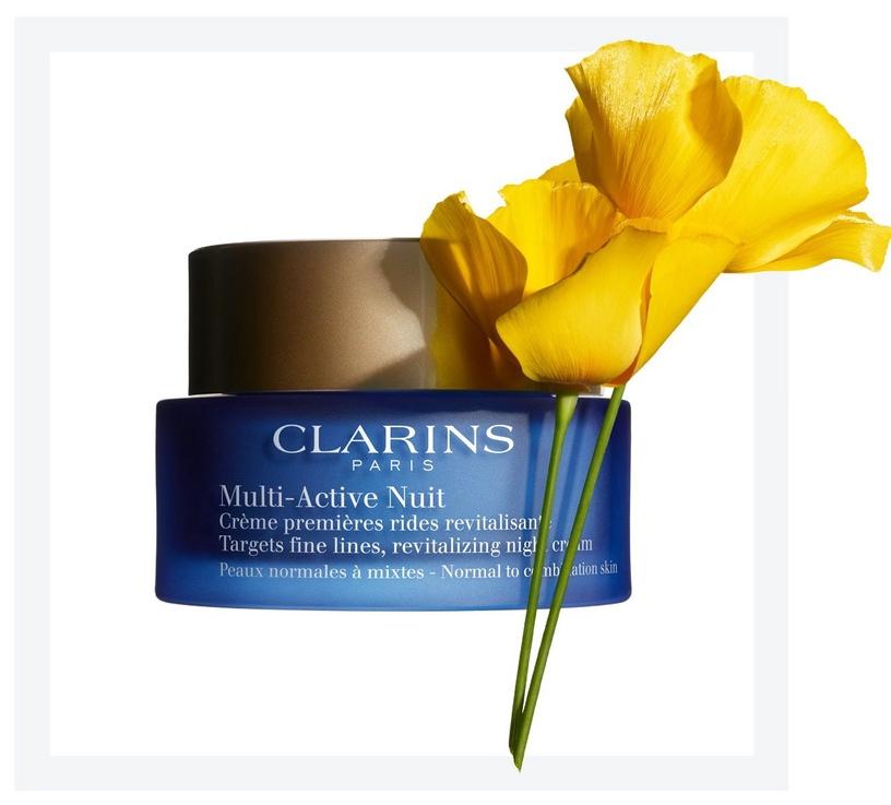 Sejas krēms Clarins Multi - Active Light Night, 50 ml