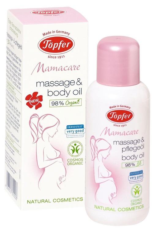 Масло для тела Topfer Mamacare Massage & Body Oil, 100 мл