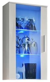 Vitrīna ASM Neo II White Matt, 60x29x110 cm