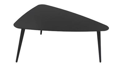 Kafijas galdiņš Black Red White Triango S Black, 800x650x420 mm
