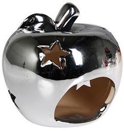 Svečturis Verners Apple Silver, 10x9 cm