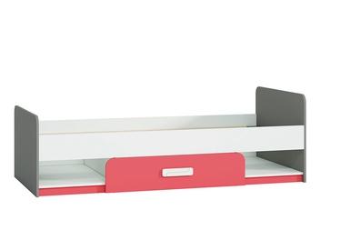 Детская кровать ML Meble IQ 12 Raspberry, 203x94 см