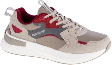 Big Star Sport Shoes GG174463 Beige/Red 43
