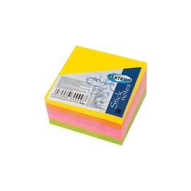 Клеящиеся листки для записей STICK NOTES 80099 51X51MM 250PCS 5COL