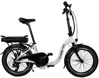 Велосипед Blaupunkt Folding E-bike, белый/черный, 20″
