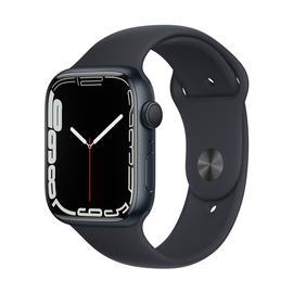 Умные часы Apple Watch Series 7 GPS 45mm Aluminum, серый