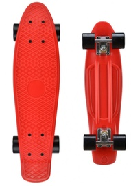 Детский скейтборд Fishboard, 56x15см, красный