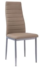 Ēdamistabas krēsls Signal Meble Bis H261 Dark Beige, 1 gab.