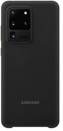 Silicone Cover Galaxy S20 Ultra Black
