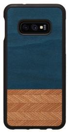 Man&Wood Denim Back Case For Samsung Galaxy S10e Black/Blue