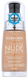 Tonizējošais krēms Deborah Milano 24ore Nude Perfect Apricot, 30 ml