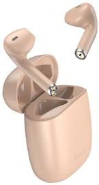 Bezvadu austiņas Baseus Encok W04 Pro TWS in-ear, rozā