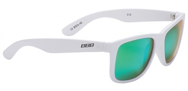 BBB Cycling BSG-46 Street Polarized Green & White
