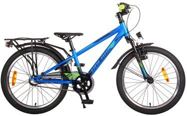 Детский велосипед Volare Prime Collection Cross, синий/зеленый, 20″
