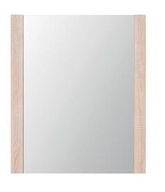 Black Red White Go Mirror 74x88cm Sonoma Oak