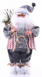 Dekorācija DecoKing Christmas Decoration Santa Claus Red/Grey 43cm