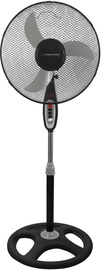 Ventilators Esperanza Typhoon EHF002 Black/Grey, 50 W